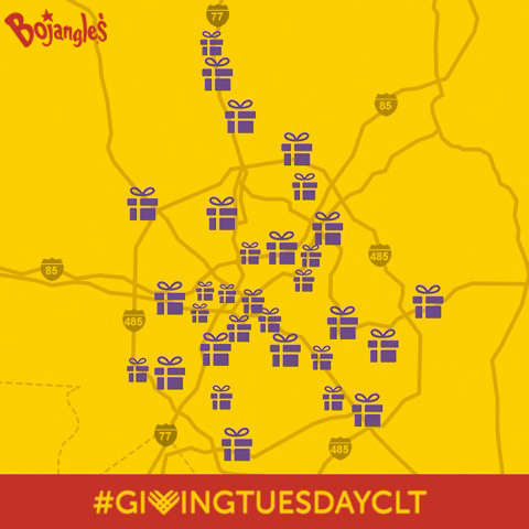 Bojangles Supports #GivingTuesdayCLT