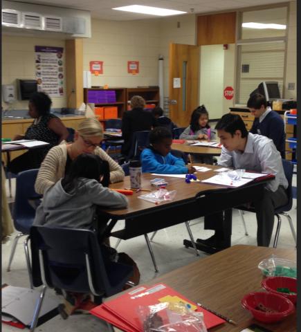 HEART Math Tutoring volunteer. Visit SHARE Charlotte to get started.