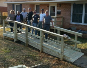 Volunteer to build wheelchair ramps with Love INC.