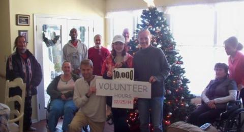 Samaritan House volunteers