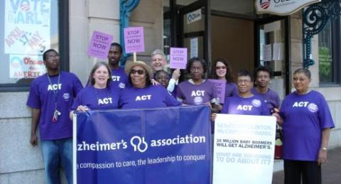 Volunteers for Alzheimer's Association